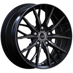 Cerchi Infiny Spike 7.0x16 5x112 ET35 73.1 Glossy black polished face