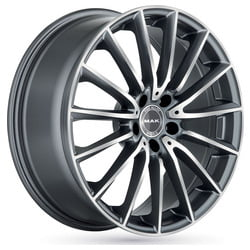 Cerchi Mak Komet 7.5x17 5x112 ET36 66.6 Gun metal polished lip