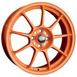 OZ Alleggerita HLT 7.5x17 5x114.3 ET48 75 Orange Felge
