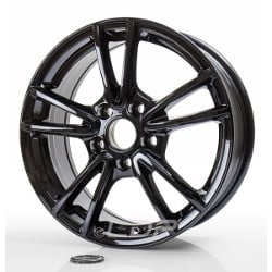 Proline CX300 7.5x17 5x112 ET50 66.5 Ice black rim